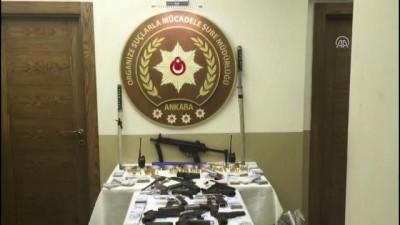 Başkentte iki suç örgütüne operasyon