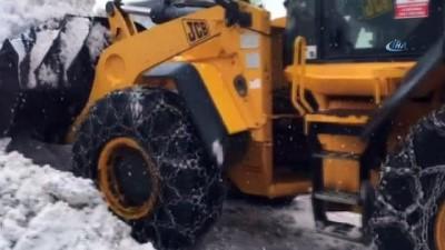 Bingöl'de kar nedeniyle 87 köy yoluna ulaşım sağlanamıyor