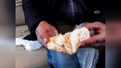 Ekmekten çay kaşığı çıktı, sosyal medya yıkıldı