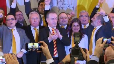 Galatasaray'ın yeni başkanı Mustafa Cengiz, basın mensuplarının sorularını cevapladı - İSTANBUL