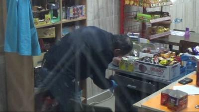 Karaman'da okuldaki hırsızlık şüphelisi güvenlik kamerasından yakalandı