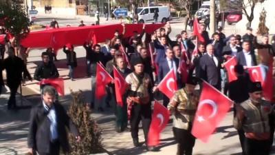 Kilis'te TSK'ye destek yürüyüşü