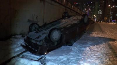 Köprüden düşen otomobilden yara almadan kurtuldu - KAYSERİ