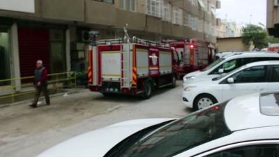 Patlayan televizyon tüpü yangına neden oldu - ADANA