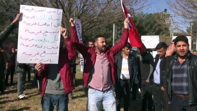 Suriye sınırında PYD/PKK protestosu - ŞANLIURFA