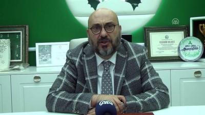 TFF 1. Lig Kulüpler Birliği Başkanı Bozbağ: 'Kulüplerimizi borç batağından kurtarmalıyız' - GİRESUN