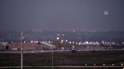 Zeytin Dalı Harekatı - İncirlik Hava Üssü'ne 3 savaş uçağı iniş yaptı - ADANA
