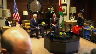 baskent - ABD Başkan Yardımcısı Pence - Ürdün Kralı 2. Abdullah görüşmesi - AMMAN