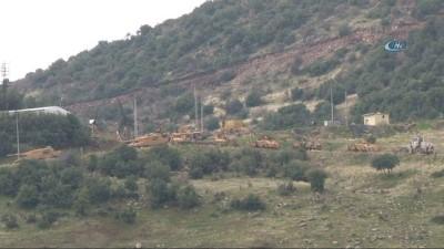 Başbakan Binali Yıldırım'ın kara harekatının başladığı nokta dediği 'Gülbaba' mevki böyle görüntülendi