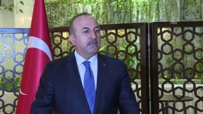 baskent - Dışişleri Bakanı Çavuşoğlu, gazetecilerin sorularını yanıtladı (1) - BAĞDAT