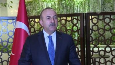 baskent - Dışişleri Bakanı Çavuşoğlu, gazetecilerin sorularını yanıtladı (2) - BAĞDAT