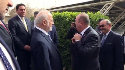 baskent - Dışişleri Bakanı Çavuşoğlu Irak'ta - BAĞDAT