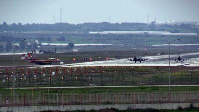 argo - İncirlik Hava Üssü'nde savaş uçağı hareketliliği (3) - ADANA