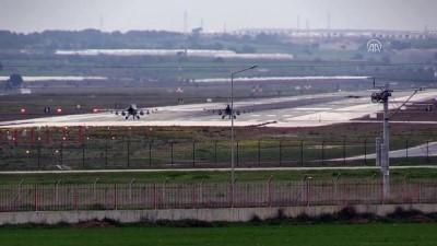 İncirlik Hava Üssü'nde savaş uçağı hareketliliği (4) - ADANA