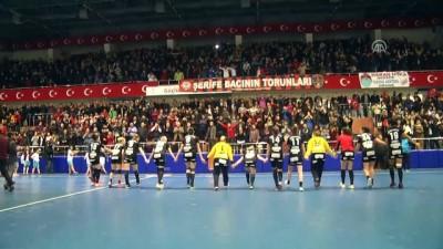 Kastamonu Belediyespor-Byasen Handball Elite hentbol maçının ardından - KASTAMONU