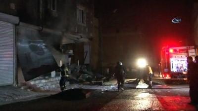 KİLİS-TOPLU) Kilis'de üç ayrı yere roket düştü