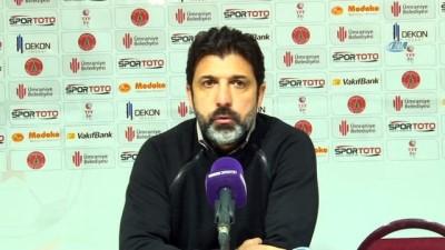 """rektor - Oktay Derelioğlu: """" Önümüzdeki maçlarda olumlu sonuçlar için çalışacağız"""""""
