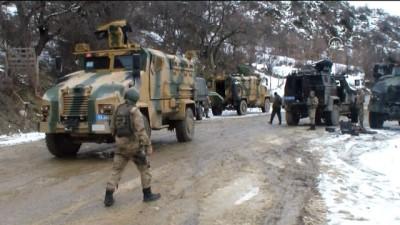 Operasyondaki askerlerin üzerine çığ düştü: 5 şehit, 12 yaralı (2) - BİTLİS