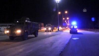 Suriye'nin Azez bölgesine askeri araç sevkiyatı gerçekleştirildi - KİLİS