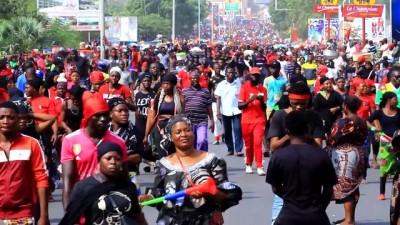 baskent - Togo'da Gnassingbe karşıtı gösteri - LOME
