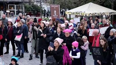 baskent - Yunanistan'da Kadınlar Yürüyüşü düzenlendi - ATİNA