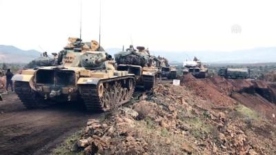 Zeytin Dalı Harekatı - Sınıra tank sevkiyatı - HATAY