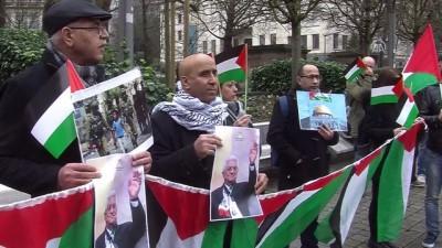 sivil toplum - Brüksel'de Filistin'e destek gösterisi - BRÜKSEL