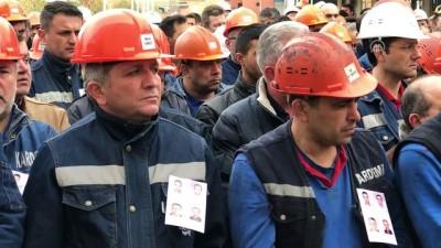 cenaze - Kazada ölen KARDEMİR işçileri defnedildi - KARABÜK