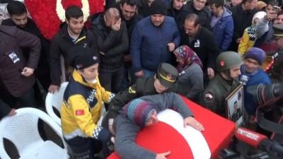 Şehit Uzman Çavuş Ali Taştepe son yolculuğuna uğurlandı