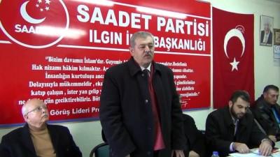 SP Genel Başkan Yardımcısı Lütfi Yalman - Zeytin Dalı Harekatı - KONYA
