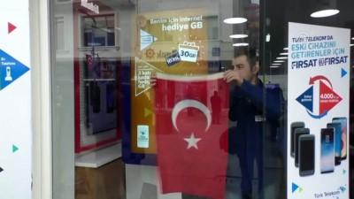 Zeytin Dalı Harekatına bayraklı destek - YOZGAT