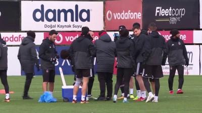 Beşiktaş'ta Kasımpaşa maçı hazırlıkları - İSTANBUL