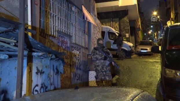 akalan - Beyoğlu'nda uyuşturucu operasyonu - İSTANBUL