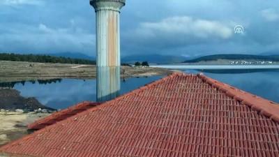 Gölün ortasındaki cami ibadete açıldı - BOLU