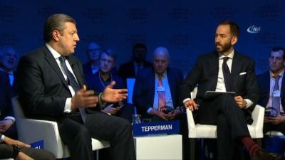 - Gürcistan Cumhurbaşkanı Kvirikaşvili: 'İpek yolu projesi, bölgede kalıcı bir zemin oluşturuyor'
