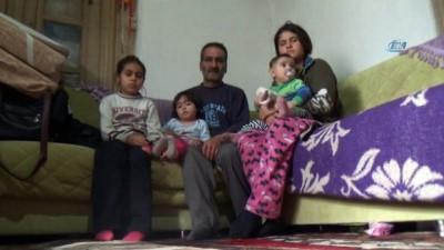 İlk eşi kazada, ikinci eşi zatürreden ölen adam evi yanınca çocuklarıyla ortada kaldı