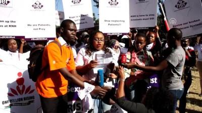 Kenya'da hastanede cinsel istismar iddiaları protesto edildi - NAYROBİ