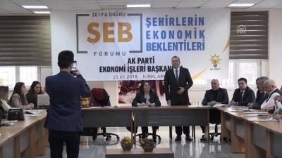 'Şehirlerin Ekonomik Beklentileri Forumu' - KIRKLARELİ