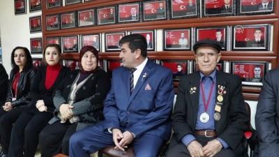 Şehit aileleri ve gazilerden 'Zeytin Dalı'na destek - OSMANİYE Haberi