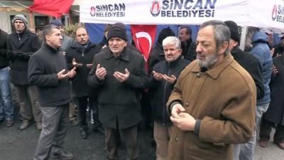 Zeytin Dalı Harekatı - Şehit Özalkan'ın cenazesi baba evine getirildi - ANKARA Haberi