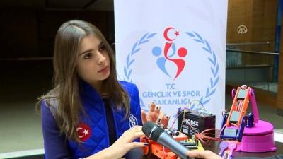bluetooth - Aksaraylı gençler, robotlarıyla Türkiye'yi temsil edecek - ANKARA