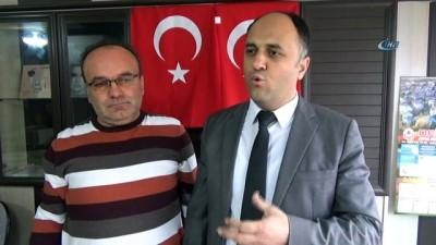 """etnik koken -  Beyşehir'den """"Zeytin Dalı Harekatı""""na bayraklı destek"""