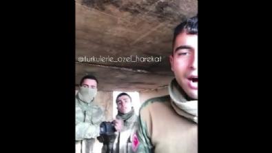 Mehmetçik Afrin'e özel türkü besteledi