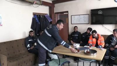 VEDAŞ ekiplerinin zorlu kış mesaisi - BİTLİS