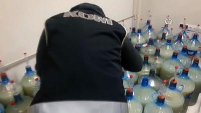Banyoda kaçak içki üreten emekli öğretim görevlisine operasyon - ÇORUM