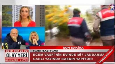 Jandarma canlı yayında yanlış eve baskın yaptı