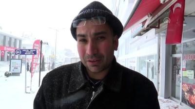 Kar yağışı etkili oldu - YOZGAT