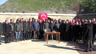 Mecidiye Tabyası'ndan 'Zeytin Dalı Harekatı'na destek - ÇANAKKALE