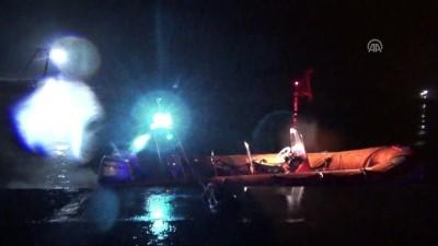 Ordu'da polis aracı denize düştü(2): 1 kayıp, 1 yaralı
