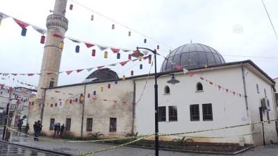 Roketli saldırı sonucu zarar gören üç asırlık Çalık Camisi kullanılamaz hale geldi - KİLİS